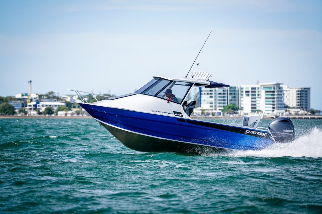 F150 SURTEES 650 GAME FISHER 8 with Yamaha Outboards