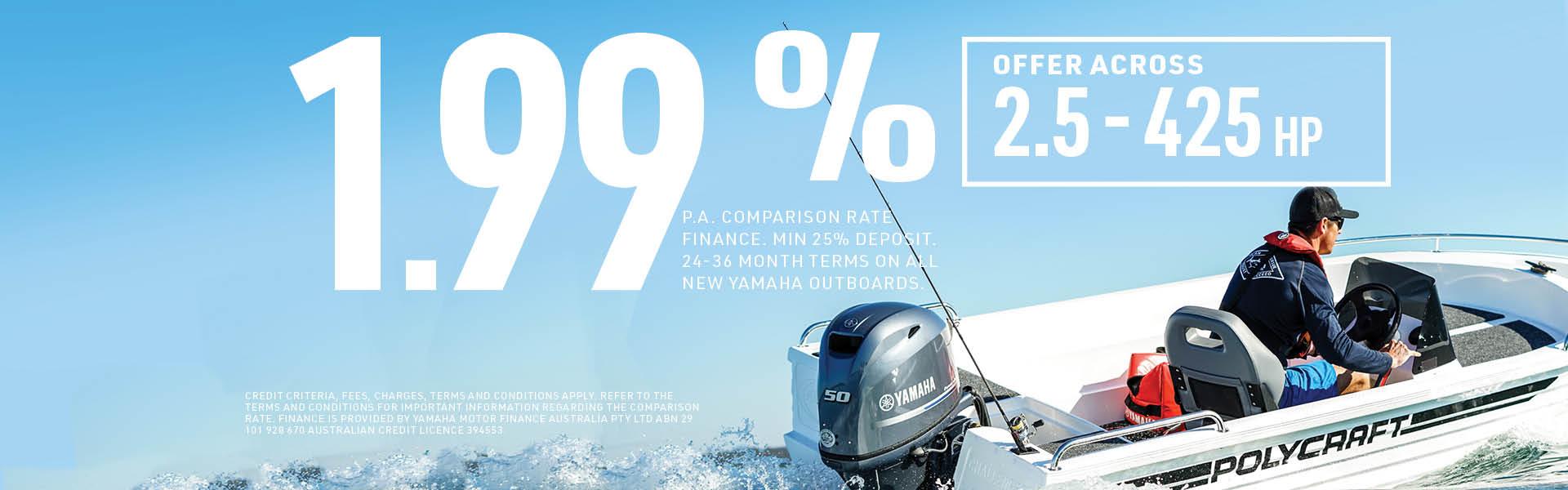 Yamaha Outboard Promotion