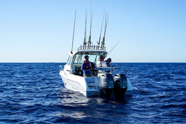 Classic Craft Boat with Yamaha Outboards